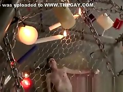 Wyatt-bondage male tickle gay a sadistic trap for twink