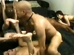 Group interracial sex with BBWs