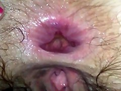 WIFE ANAL FUCK HUGE GAPE AND FARTING