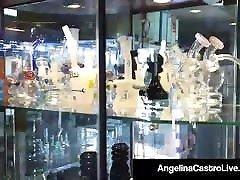 BBW Cuban Angelina Castro StrapOn Fucks japanese gay toys Harmonie Marquis