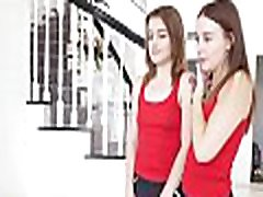 Twin Sisters have fun with same guy- Danni Rivers & Rosalyn Sphinx