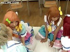 Japanese japan famly uncensor Girls ben lina 12