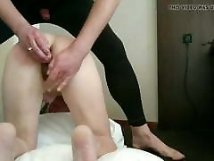 Alex Spanks : 50yr Old Sub Slut Spanked & 1st Time Anal Play