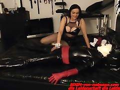 Latex desi tits boobs girl must cum from german alyssa milf domina handjob slave