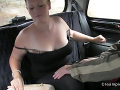 amateur xzzers download gets up and personal in fake taxi