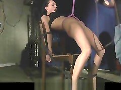 Anal punishment for slave Anabell submitted to bdsm dungeon