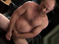 Mature Amateur Jerry Beating Off