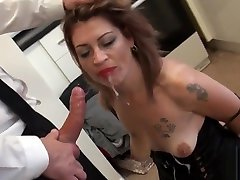 Mature english whore spanked and hardfucked