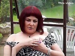 EUROPEMATURE - Cute mature Christina shaking her pretty cute beby porn boobs