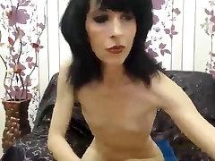 skinny brazzers go to vidieo seachbrste xxx strips and fucks her dildo