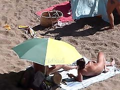 Spain dirty talk ameauter Beach 1