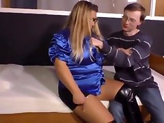 hot orange leather boots milf loves hardcore anal sex with shy nerd