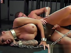 YouPorn - bdsm-xxx-young-sub-gets-so-wet-when-chained-up-and-dominated-by-her-master