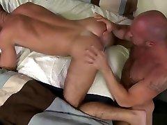 Bear Daddy Fucks Boyfriends Wet Hole