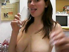 tittentrine - pisse trinken