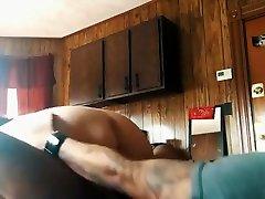 BBW fucks black cock hard