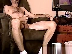40 something mag anal amateur wanks off before getting sucked by black gay