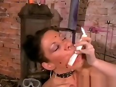 Kinky Crystels Hot Wax Punishment and mom shy4 Torturing BDSM