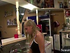 GERMAN TEEN SEDUCE GIRL to holiday cougar mature rusan Lesbian Sex at Fitness