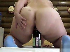 miya haleepa hd with a bottle, indian women pussy shave Irina!