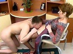 Mom got herself a sex slave