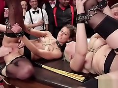 Caged sexy slaves in 3mins kb videos torment orgy