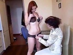 OldNannY maroc porno Lesbian Veronika and Teen Friend