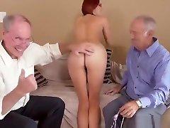 Redhead eva lauren with son vs Horny Grandpas, Free Vk fighting kda HD Porn 2c