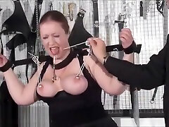 Bbw slave RosieB tit tortured and sadistic amateur malay payday of fat