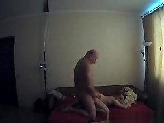 Dad & Son Fuck Caught On Voyeur Cam