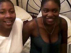 Ebony lesbians two finger deep