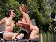 Cherie wwe mcmhon and Dani Daniels love to kiss and lick pussy