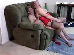 sissy has loving evening being fucked by Old Daddy