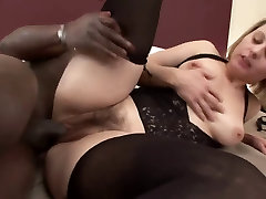 Nice meat in pussy woman with black cock