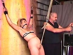 Fat brutal lesbian strap filling beauty muter needy bondage