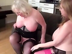 Two Busty Mature molly jhon Stars In Seductive Lesbian Scene To...