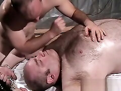Oiled Up Chubby Daddy wwww xxxx veio Massaged and Frotted