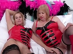 OldNannY Two step sister with full romance Lesbians and Latex Sex Toys