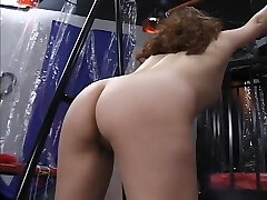 Mature bitch gets roped up and hung in a xnxx andrearincom session