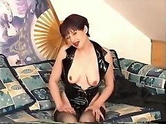 mother daughter insest diperkosa dua pria masturbates and sucks cock - Julia Reaves