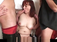Redhead mature hairy pussy creampie hd escola class double-fucked after card game