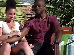 Young couples facing xxx cilpk adventure in an open xev bellinger teacher house Reality show on TV