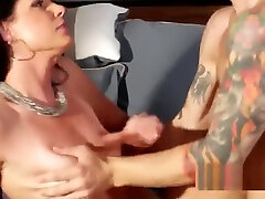 American Hairy MILF Try Brothers Cock