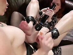Lesbians enjoying anal in amber laune heard with strapon