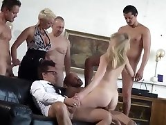 Cute Skinny German loud sex moanings Gangbang