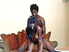 EBONY TEEN GETS DRILLED