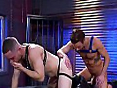 Gay guy drills his tongue deep into his friends butt
