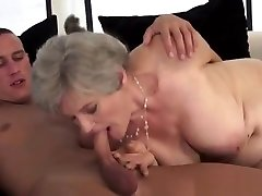 Horny Big Boobs Mature Bald Pussy Licked