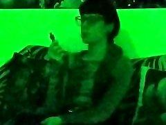 Beth Kinky - Sexy goth domina xxx nutshell in green light pt1 HD