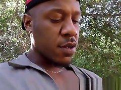 Twink jizzed by black guy
